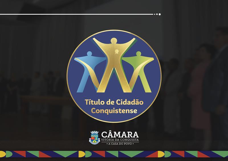 Imagem Câmara entrega Título de Cidadão Conquistense a 44 personalidades