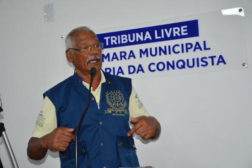 Imagem  TRIBUNA LIVRE: Sargento Absolon pede criação da Polícia Mirim em Vitória da Conquista
