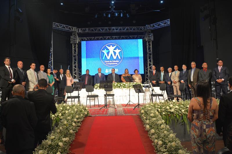 Imagem Título de Cidadão Conquistense: 39 pessoas recebem o reconhecimento pelos trabalhos prestados ao município
