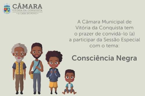 Imagem Câmara tem programação especial no Dia da Consciência Negra e homenageará quatro personalidades com Troféu Zumbi dos Palmares