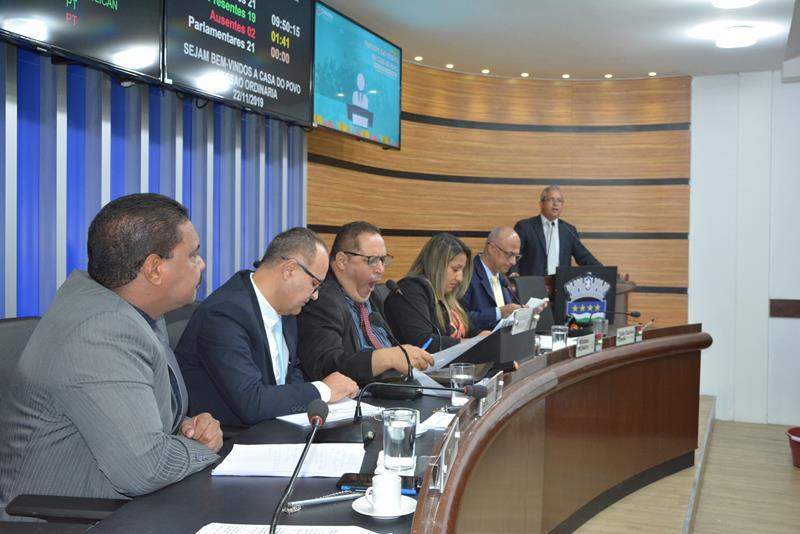 Imagem  Pauta: Projeto sobre criação da Guarda Municipal é lido na Câmara