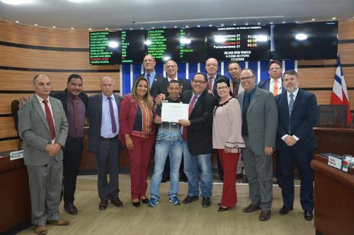 Imagem Câmara homenageia organização da 1ª Copa Alto Maron