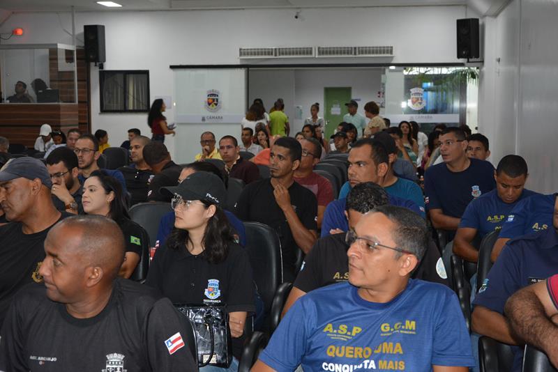 Imagem Pauta: Sessão é marcada pela 1ª votação do projeto da Guarda Municipal e da LOA 2020