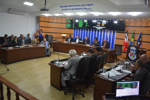 Imagem Pauta: Em última sessão ordinária de 2019, Câmara aprova Guarda Municipal e Lei Orçamentária