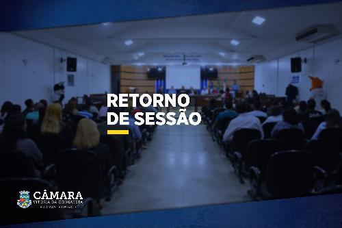 Imagem Sessões Legislativas retornam no próximo dia 05