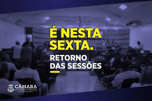 Imagem Após adiamento, sessões Legislativas retornam nesta sexta-feira (07)