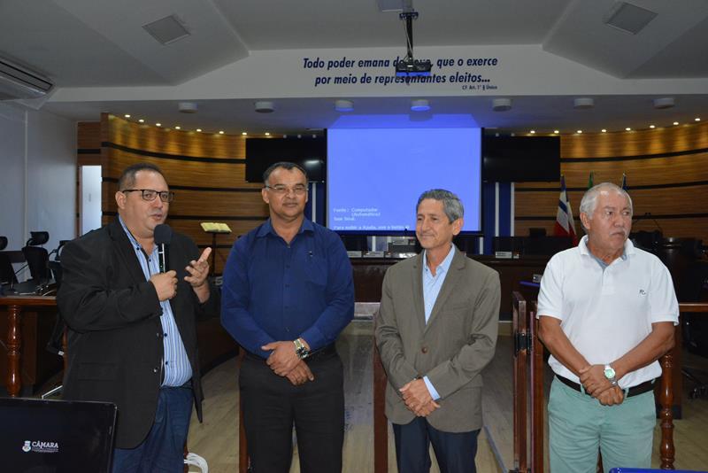 Imagem Câmara Municipal realiza evento em parceria com o Senado Federal