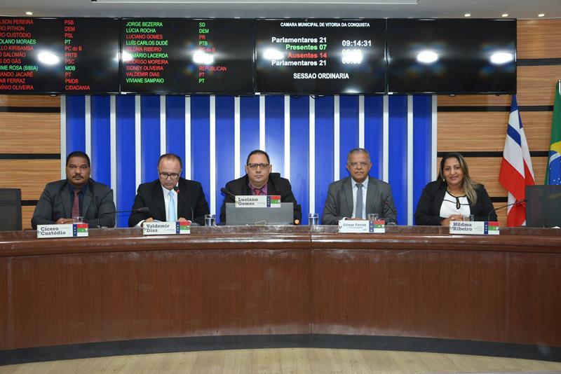 Imagem Pauta do Dia: Câmara vota projetos e cobra investimentos no município