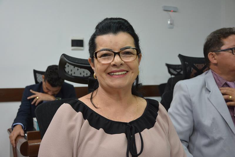 Imagem  Lúcia Rocha pede arborização da Avenida Frei Benjamin