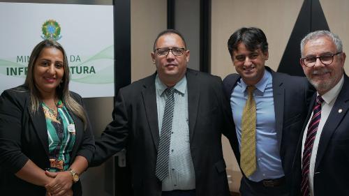 Imagem Comitiva da Câmara participa de discussão sobre a Via Bahia no Ministério da Integração
