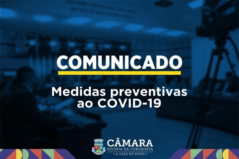 Imagem Câmara toma medidas preventivas em função da ameaça do Coronavírus