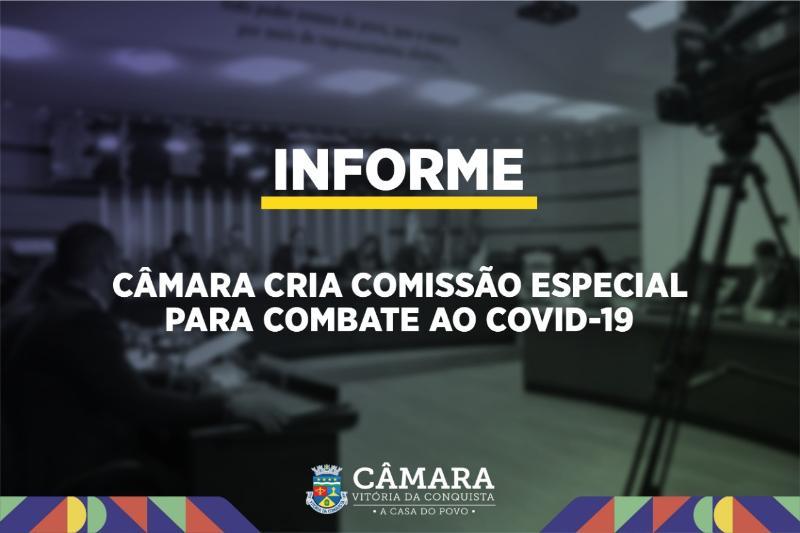Imagem Câmara cria Comissão Especial de Enfrentamento ao Covid-19