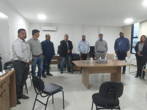 Imagem Comissão Especial de Enfrentamento ao coronavírus se reúne com secretário de saúde e diretor do Hospital de Base