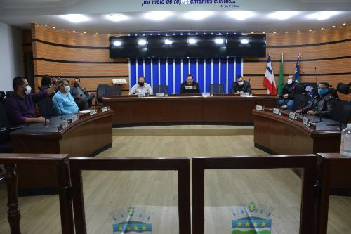 Imagem  Câmara se reúne com representantes da Prefeitura para debater a Guarda Municipal