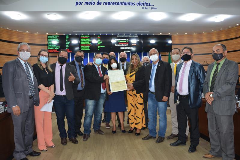 Imagem Sindicato dos Contadores recebe Moção de Aplauso da Câmara