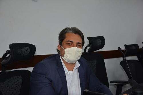 Imagem  Rodrigo agradece aos vereadores pelo aprendizado durante a legislatura