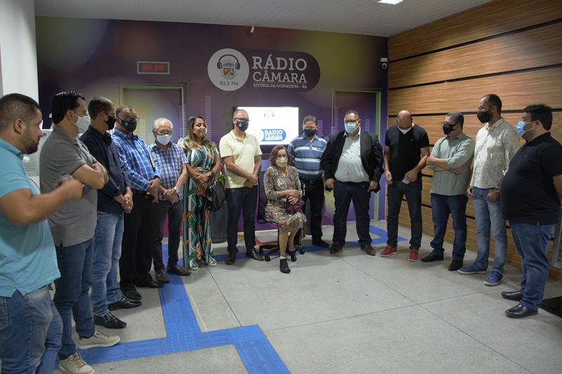 Imagem Câmara inaugura instalações da Rádio Câmara FM