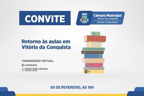 Imagem Câmara discute retorno às aulas presenciais em Conquista
