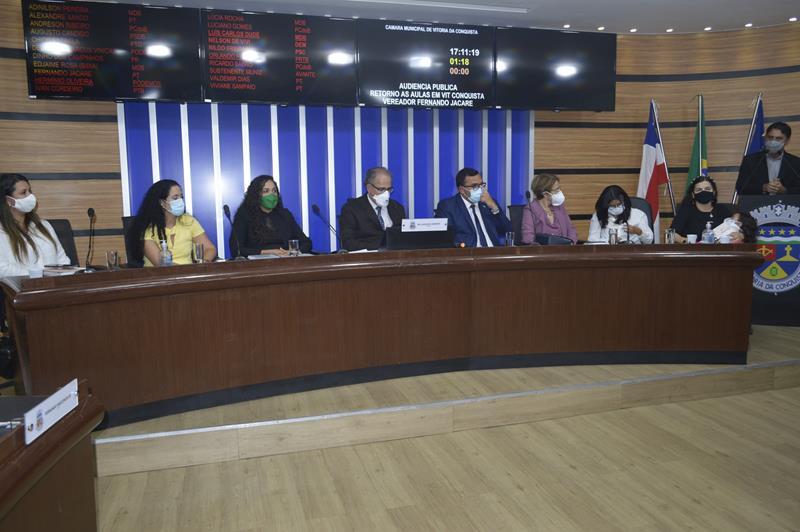 Imagem Câmara e representantes da sociedade debatem retorno às aulas presenciais