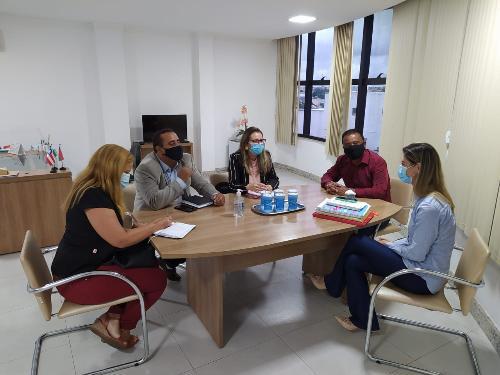 Imagem Comissão da Câmara apresenta demandas à Secretaria Municipal de Saúde
