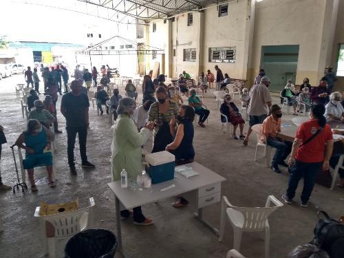 Imagem  Câmara Municipal fiscaliza vacinação de idosos em Conquista