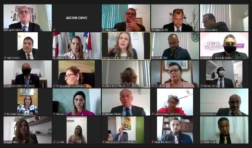 Imagem Vereadores defendem políticas públicas para as mulheres e relembram trajetórias de lutas e desafios da categoria