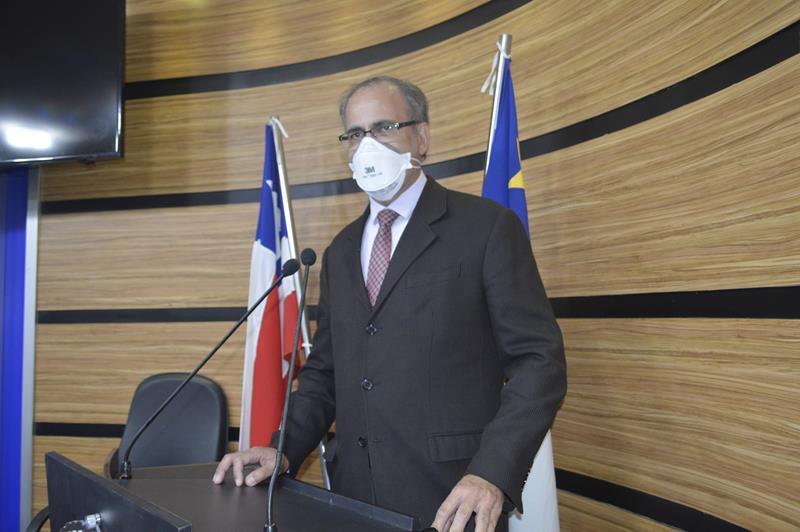 Imagem Augusto Cândido denuncia falta de alimentação parenteral no HGVC