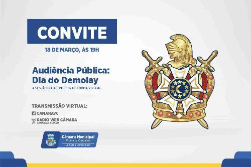 Imagem Câmara celebra Dia Municipal da Ordem DeMolay