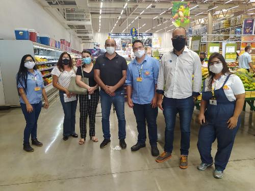 Imagem Comissão Especial de Combate à Covid-19 realiza fiscalização em supermercados da cidade