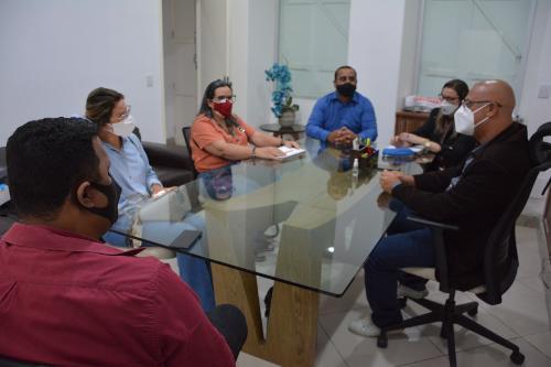 Imagem Câmara se reúne com Conselho Municipal de Saúde