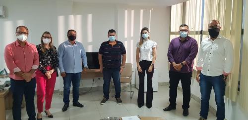 Imagem Comissão de Enfrentamento à Covid-19 da Câmara se reúne com secretarias de Saúde e de Administração