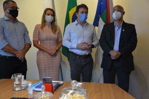 Imagem Presidente da Câmara participa de anúncio de implantação do escritório da Codevasf em Conquista