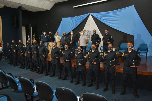 Imagem Câmara participa de solenidade de formatura dos alunos da Guarda Civil Municipal