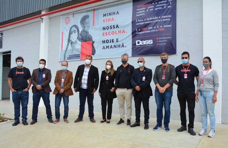 Imagem Em visita à Indústria Dass, Câmara reivindica a criação de mais postos de trabalho em Conquista