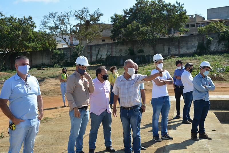 Imagem Comissão de Obras e Serviços Públicos inspeciona projetos da Prefeitura Municipal