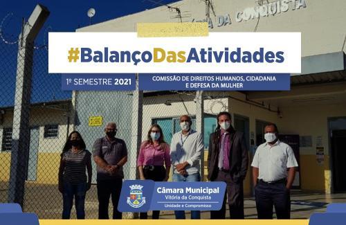Imagem Balanço das atividades: Comissão de Direitos Humanos busca mais diálogo com a sociedade