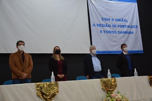 Imagem Presidente da Câmara destaca importância da união entre municípios da Região Sudoeste