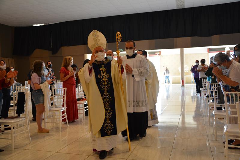 Imagem Festa da Padroeira reúne autoridades religiosas, políticas e fiéis conquistenses