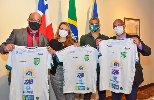 Imagem Com apoio da Câmara, diretoria do ECPP se reúne com Governo Municipal