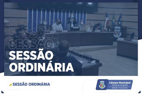 Imagem Câmara realiza 4ª Sessão Ordinária deste semestre nesta sexta-feira