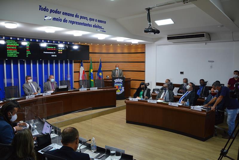 Imagem Projeto que reajusta salário dos servidores municipais tem votação favorável