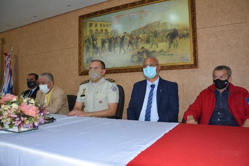 Imagem Câmara participa de solenidade comemorativa aos 37 anos da Banda de Música da Polícia Militar