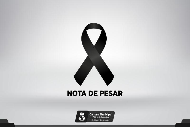 Imagem Nota de Pesar: Câmara lamenta morte do empresário João Cairo Santos