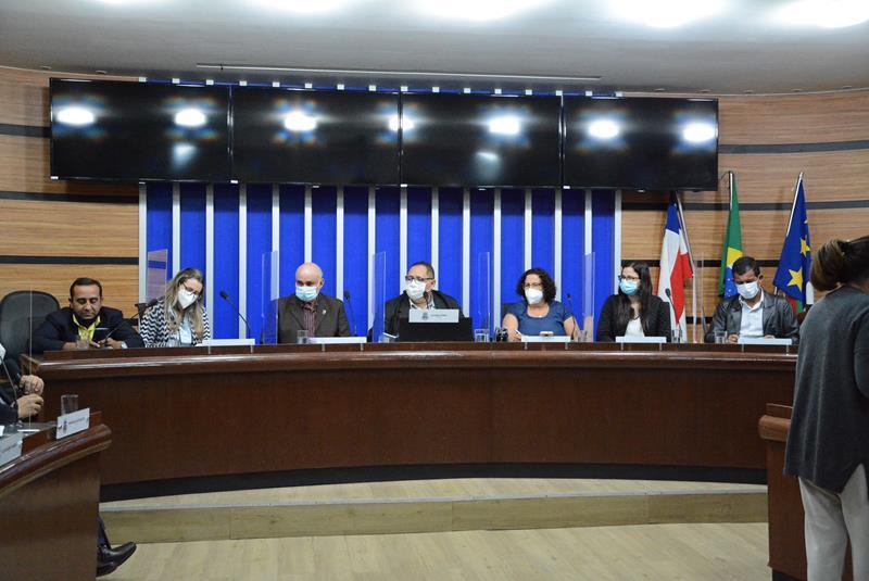 Imagem Audiência Pública discute Projeto de Lei de Diretrizes Orçamentárias exercício 2022
