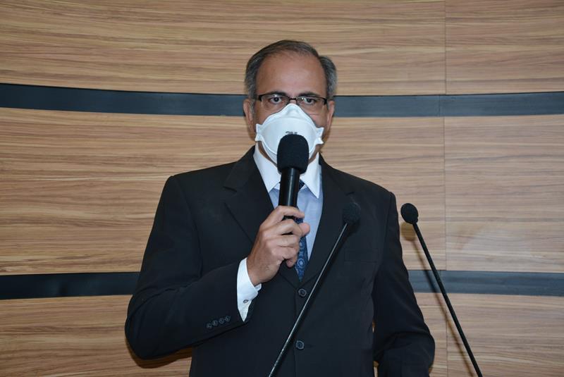 Imagem Augusto Cândido faz críticas ao Governo do Estado e defende presidente da República