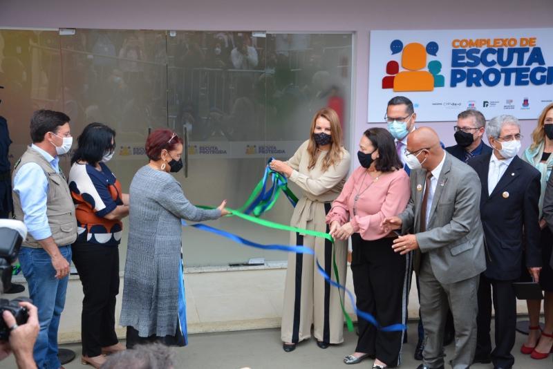 Imagem Câmara Municipal prestigia inauguração do Complexo de Escuta Protegida