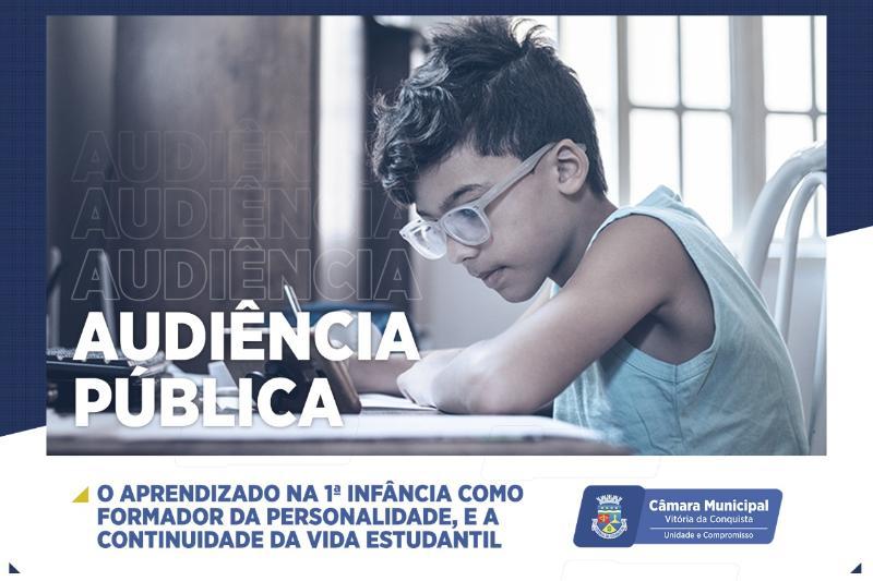 Imagem Câmara debate 1ª Infância e Vida Estudantil em Audiência Pública