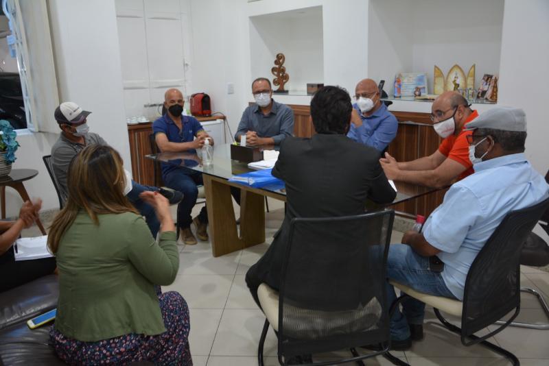 Imagem Acatace solicita apoio da Câmara na doação de terreno para construção da nova Ceasa