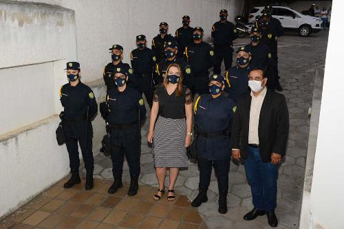 Imagem Guarda Municipal recebe Moção de Aplauso da Câmara