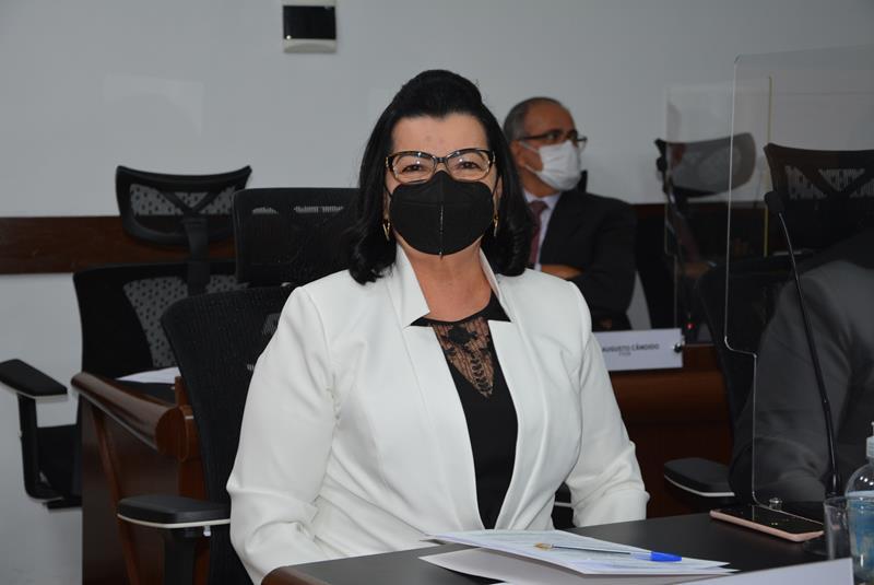 Imagem Lúcia Rocha agradece a apoiadores por realização de evento do MDB